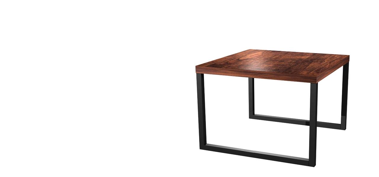 stolik-drewno-stal